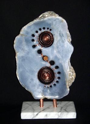 'Spirit of 67' - Stone Sculpture - Currently Available